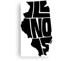 Illinois Canvas Print