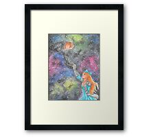 Rindea: Time and Space Framed Print
