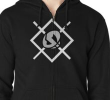 Team Skull Logo - Pokemon Sun and Moon Zipped Hoodie