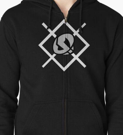 Team Skull Logo - Pokemon Sun and Moon Zipped Hoodie