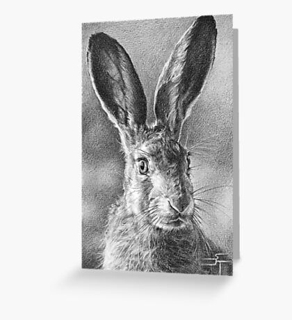 Hare Today, Gone Tomorrow Greeting Card