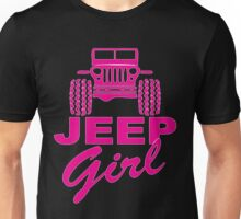 jeep girl 2 Unisex T-Shirt