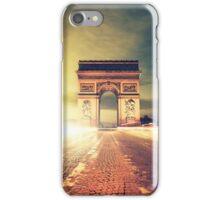 paris skyline iPhone Case/Skin