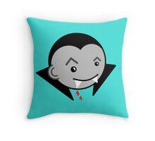Dracula  Throw Pillow