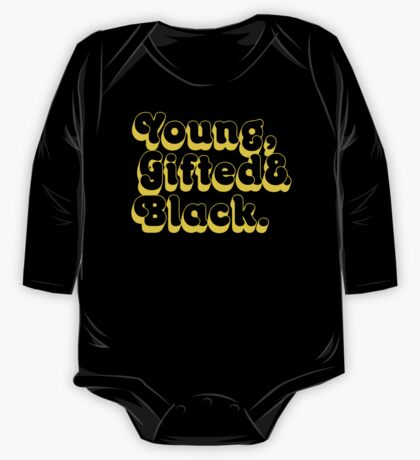 Young, Gifted & Black. One Piece - Long Sleeve