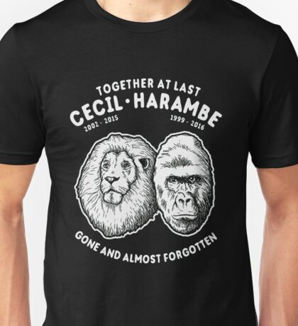 cecil and harambe Unisex T-Shirt