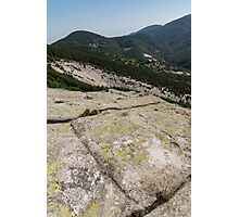 Rock Power from the Past - Ancient Thracian Ceremonial Site Belintash Photographic Print