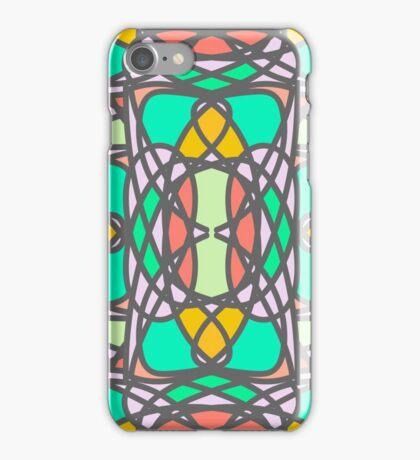 Decorative stylized mosaic pattern iPhone Case/Skin