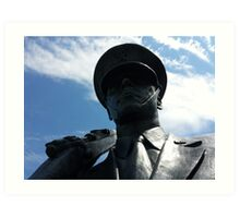 The Air Force Memorial Honor Guard Sculpture Art Print