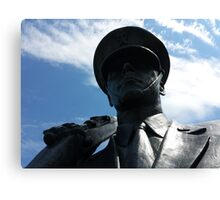 The Air Force Memorial Honor Guard Sculpture Canvas Print