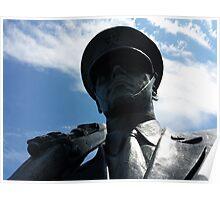 The Air Force Memorial Honor Guard Sculpture Poster