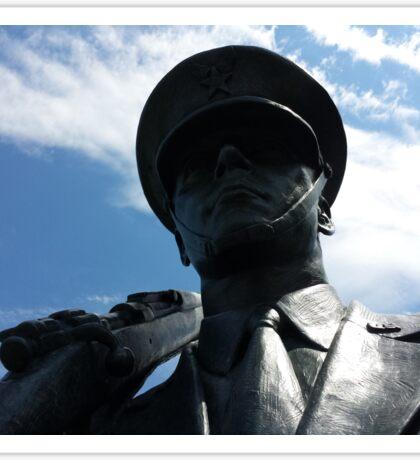 The Air Force Memorial Honor Guard Sculpture Sticker