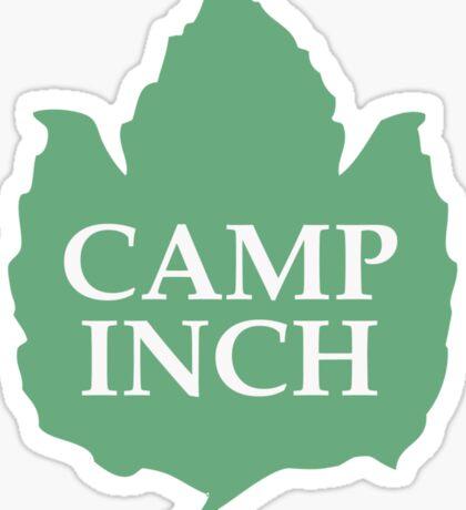 Camp Inch Sticker