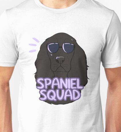 SPANIEL SQUAD (black) Unisex T-Shirt