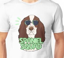 SPANIEL SQUAD (liver and white) Unisex T-Shirt
