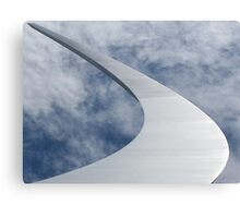The United States Air Force Memorial Plate No.# I  Canvas Print