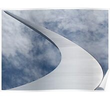 The United States Air Force Memorial Plate No.# I  Poster