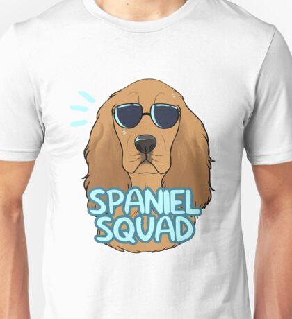 SPANIEL SQUAD (red) Unisex T-Shirt