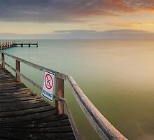 No Diving, Mornington Peninsula, Victoria, Australia by Michael Boniwell