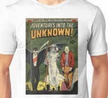 Adventures into the Unknown - Vampire and Friends Unisex T-Shirt