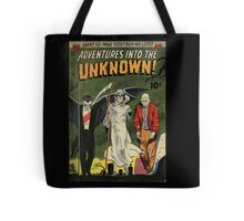 Adventures into the Unknown - Vampire and Friends Tote Bag