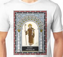 ST FRIDOLIN under STAINED GLASS Unisex T-Shirt