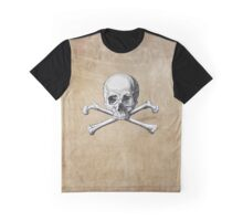 Pirate Skull and Crossbones #3 Graphic T-Shirt