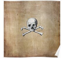Pirate Skull and Crossbones #3 Poster