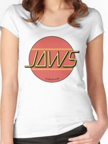 JAWS Band Logo Women's Fitted Scoop T-Shirt