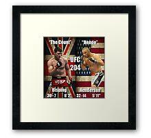 UFC 204- Bisping - Henderson Framed Print