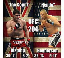 UFC 204- Bisping - Henderson Photographic Print