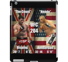UFC 204- Bisping - Henderson iPad Case/Skin