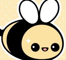 Cute Bee Birthday Sticker