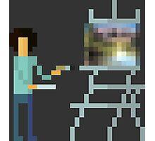 Pixel Ross Photographic Print