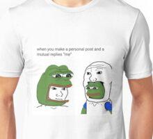 MUTUAL RELATIONS Unisex T-Shirt