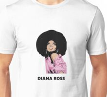 diana ross afro painting art heru Unisex T-Shirt