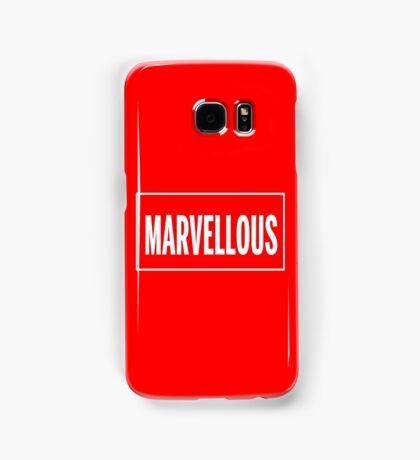 Isn't it Marvellous? Samsung Galaxy Case/Skin
