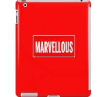 Isn't it Marvellous? iPad Case/Skin