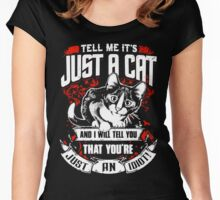 cat lovers Women's Fitted Scoop T-Shirt