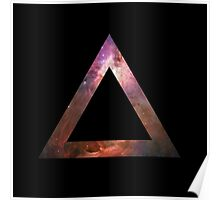 Orion Nebula Triangle Space Poster