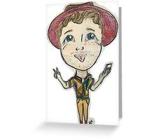 Trent Harmon Being Cute, as always.  Greeting Card