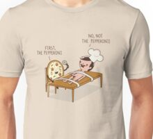 The pepperoni Unisex T-Shirt