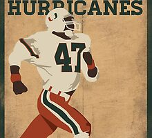 University of Miami National Champions  by MNDesigns