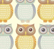 Owl Collection Sticker