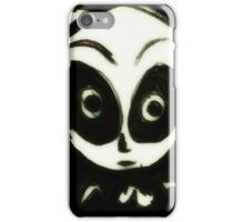 Little black ghost iPhone Case/Skin