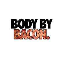 BODY BY BACON. Photographic Print