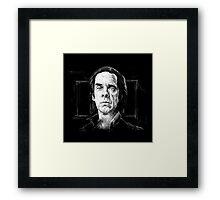 Nick Cave, A Portrait Framed Print