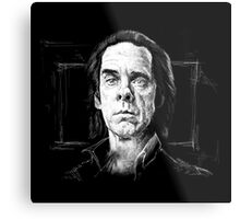 Nick Cave, A Portrait Metal Print