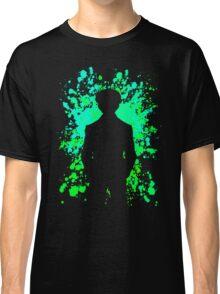 Yusuke Paint Splatter Anime Manga Shirt Classic T-Shirt