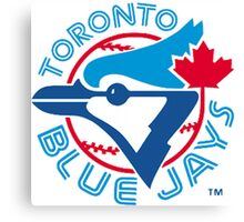America's Game - Toronto Blue Jays Canvas Print